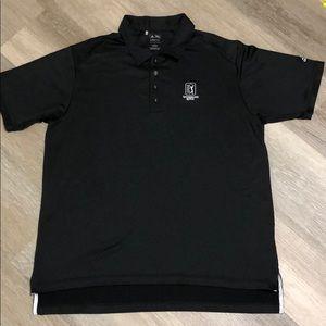 Men's Adidas Climacool Black Polo Size L